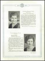 1933 Whitehall High School Yearbook Page 42 & 43