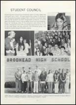 1973 Brodhead High School Yearbook Page 54 & 55