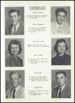 1957 Niangua High School Yearbook Page 14 & 15