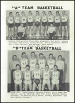 1957 Niangua High School Yearbook Page 56 & 57