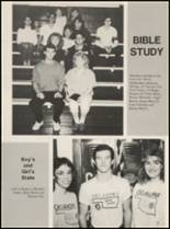 1989 Chelsea High School Yearbook Page 32 & 33