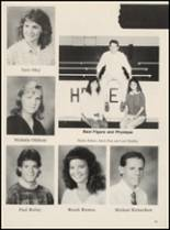 1989 Chelsea High School Yearbook Page 86 & 87