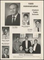 1989 Chelsea High School Yearbook Page 92 & 93