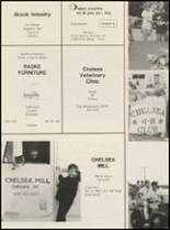 1989 Chelsea High School Yearbook Page 128 & 129