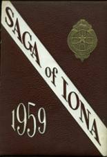 1959 Yearbook Iona Preparatory