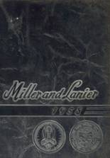 1958 Yearbook Lanier/Miller High School