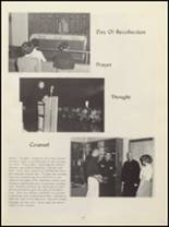 1963 Billings Central Catholic High School Yearbook Page 20 & 21