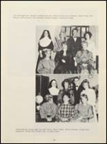 1963 Billings Central Catholic High School Yearbook Page 22 & 23