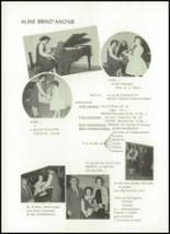 1962 Our Lady of the Mountains Academy High School Yearbook Page 42 & 43