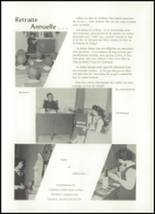 1962 Our Lady of the Mountains Academy High School Yearbook Page 54 & 55