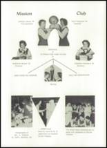 1962 Our Lady of the Mountains Academy High School Yearbook Page 58 & 59