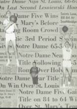 1965 Notre Dame High School Yearbook Page 54 & 55