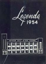 1954 Yearbook Arthur Hill High School