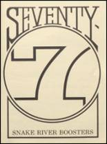 1977 Snake River High School Yearbook Page 164 & 165
