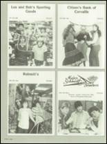 1982 Crescent Valley High School Yearbook Page 122 & 123