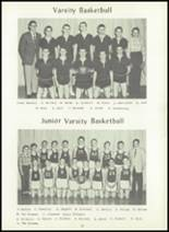 1957 Dimondale High School Yearbook Page 28 & 29
