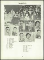 1957 Dimondale High School Yearbook Page 44 & 45