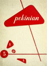 1955 Yearbook Pekin Community High School