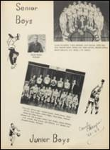 1953 Mountain Pine High School Yearbook Page 46 & 47