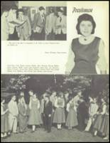 1957 Our Lady of the Valley High School Yearbook Page 22 & 23
