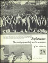 1957 Our Lady of the Valley High School Yearbook Page 24 & 25