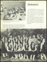 1957 Our Lady of the Valley High School Yearbook Page 26 & 27