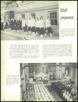 1957 Our Lady of the Valley High School Yearbook Page 84 & 85