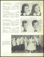 1957 Our Lady of the Valley High School Yearbook Page 90 & 91