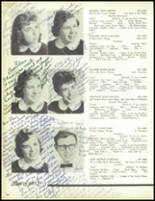 1957 Our Lady of the Valley High School Yearbook Page 98 & 99