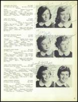 1957 Our Lady of the Valley High School Yearbook Page 100 & 101