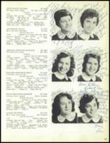 1957 Our Lady of the Valley High School Yearbook Page 104 & 105