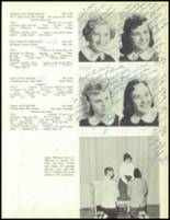 1957 Our Lady of the Valley High School Yearbook Page 108 & 109
