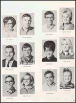 1968 Reagan County High School Yearbook Page 38 & 39