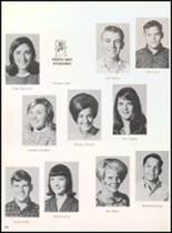 1968 Reagan County High School Yearbook Page 54 & 55