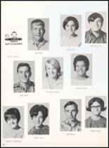 1968 Reagan County High School Yearbook Page 56 & 57