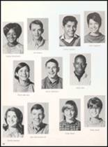1968 Reagan County High School Yearbook Page 58 & 59