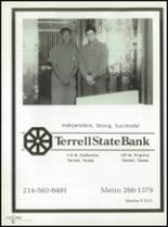 1994 Terrell High School Yearbook Page 210 & 211