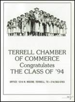 1994 Terrell High School Yearbook Page 214 & 215