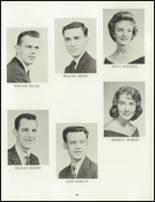 1962 Chartiers Valley High School Yearbook Page 52 & 53