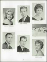1962 Chartiers Valley High School Yearbook Page 62 & 63