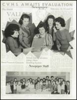 1962 Chartiers Valley High School Yearbook Page 120 & 121
