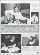 2003 Clyde High School Yearbook Page 92 & 93