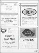 2003 Clyde High School Yearbook Page 186 & 187