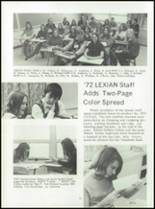 1972 Lexington High School Yearbook Page 36 & 37