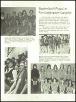 1972 Lexington High School Yearbook Page 66 & 67
