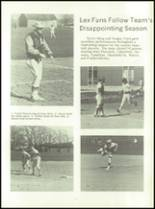 1972 Lexington High School Yearbook Page 80 & 81