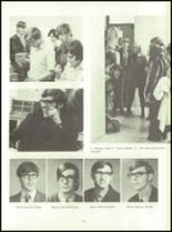1972 Lexington High School Yearbook Page 104 & 105