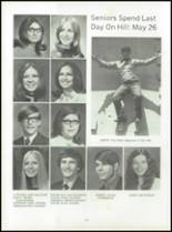 1972 Lexington High School Yearbook Page 106 & 107