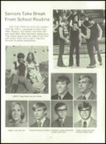 1972 Lexington High School Yearbook Page 108 & 109