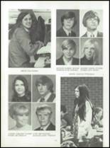 1972 Lexington High School Yearbook Page 110 & 111